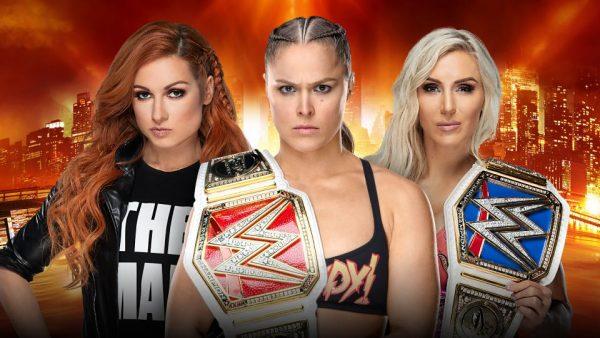 نتائج الرسلمينيا 35  من التي تصدّرت الحدث وخرجت بطلة لسيدات WWE؟