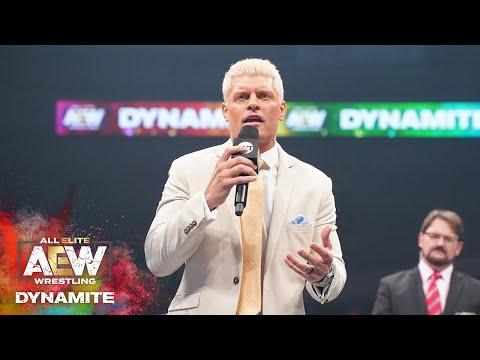 نجم WWE السابق يتحدى بطل AEW الحالي