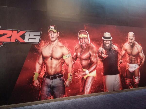 الكشف عن المزيد من المصارعين في لعبة WWE2K15
