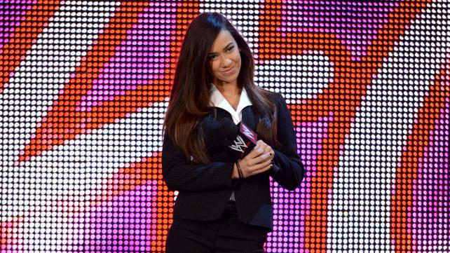 برنامج خاص عن إي جي على شبكة WWE