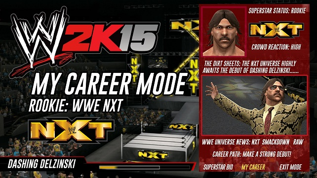 ميزات جديدة ومثيرة في خاصية المسيرة المهنية بلعبة WWE2K15