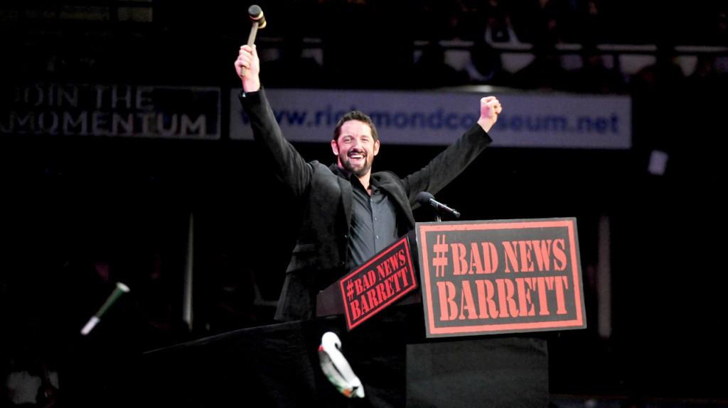"""وايد باريت يكشف عن سبب الإطاحة بشخصية """"باد نيوز باريت"""""""