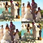 رومان رينز سعيد بزفافه من خطيبته