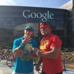 نجوم WWE يزورون عملاق البرمجيات جوجل (صور)