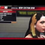 ميزة جديدة تتعلق بشعر المصارع في WWE2K16