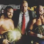 تربل اتش يهنئ أبطال الزوجي الجدد في NXT