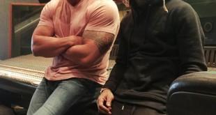 صوّر: ذا روك مع طفلته ومغني راب شهير ألبومات صور المصارعة كل الأخبار  ذا روك أخبار المصارعة 2015