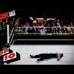 شاهد فيديو لأقوى قفزات الحبال في لعبة WWE2K16