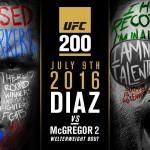رسميا| مواجهة إعادة أسطورية بين دياز ومكريجور في UFC200