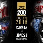 رسميا| جون جونز في مواجهة دانيال كورميه في عرض UFC 200