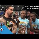 كوفي كينجستون يفوز ببطولة WWE2K16 (فيديو)