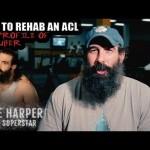 لوك هاربر يتحدث عن إصابته الأخيرة (فيديو)
