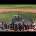 سيث رولينز يُظهر مهارته في لعبة البيسبول (فيديو)