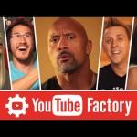 ذا روك يقدم جولة لجماهيره داخل مصنع اليوتيوب! (فيديو)
