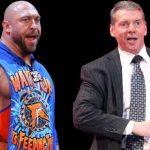 هل تواصل رايباك مع فينس مكمان منذ مغادرته من WWE؟