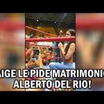 بايج تعلّق على طلبها من ألبرتو دلريو الارتباط بها (فيديو)