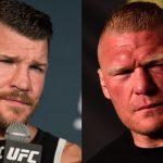 بطل UFC مايكل بيسبيغ يشتم ويهدد بروك ليسنر ويسخر منه بشدة!