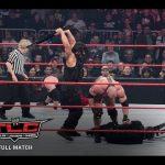 ذاكرة المصارعة| مواجهة رايباك وهيل نو ضد فريق الدرع النارية في عرض تي أل سي (فيديو)