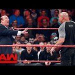 WWE تعدل سقوط غولدبيرغ المحرج، بول هيمان يتوعد