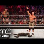 WWE تستذكر آخر مواجهة للروك في عرض سيرفايفر سيريز (فيديو كامل)
