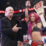ساشا بانكس ترفع التحدي وتحدد أكبر أهدافها مع WWE