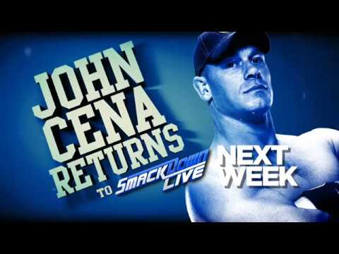 عودة جون سينا اليوم وتحديث على نزالات العرض الكبير