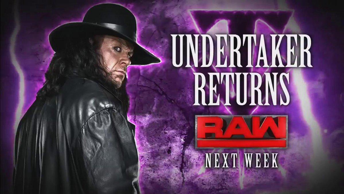 WWE تُعلن عن عودة أندرتيكر بغموض وشون مايكلز للترويج