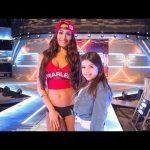 مصارعات WWE يشاركن فى أغنية الطفلة صوفي، جون سينا على التلفاز