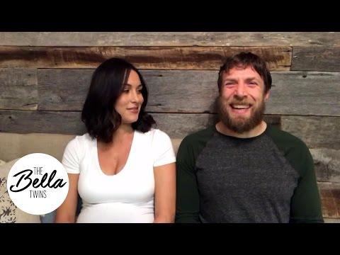 دانيال براين وزوجته بري بيلا يحددان أهدافهما في العام الجديد