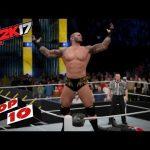 أقوى ضربات نجوم سماك داون القاضية على طريقة WWE 2K17 (فيديو)