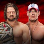 من خرج حاملا لقب WWE في رويال رامبل 2017؟ سينا أم ستايلز؟