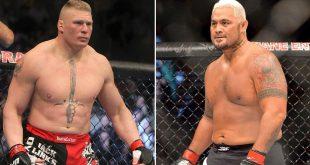 مارك هانت يقاضي بروك ليسنر واتحاد UFC كل الأخبار  مارك هانت بروك ليسنر أخبار UFC