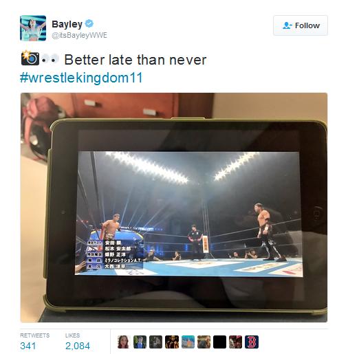 كودي رودز يكشف عن افضل مصارع، وبايلي تتابع عرض اليابان