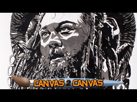 براي وايت فى لوحة فنية مميزة (فيديو)
