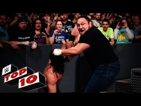 اكس باك يعلّق على مشهد هجوم ساموا جو على سيث رولينز والإصابة!