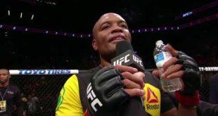 بطلة جديدة تتوّج لأول مرة في تاريخ UFC، أسطورة ينهار بالبكاء بعد تحقيقه الفوز أخبار يو أف سي UFC كل الأخبار  أندرسون سيلفا أخبار UFC