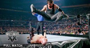WWE تستذكر المواجهة المثيرة بين اندرتيكر وكاين فى راسلمينيا (فيديو)، شاين ماكمان فى التلفاز كل الأخبار  كين شاين ماكمان اندرتيكر أخبار المصارعة الحرة 2017