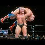 WWE تستذكر أفضل مواجهات بروك ليسنر فى راسلمينيا (فيديو)، عيد ميلاد أندرتيكر
