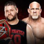 غولدبيرغ أم كيفين أوينز، من خرج حاملا حزام WWE العالمي في عرض فاست لين 2017؟