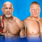الرسلمينيا 33: بروك ليسنر أم جولدبيرغ؟ من خرج حاملا لقب WWE العالمي؟