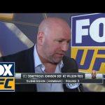 دانا وايت يعبّر عن رأيه بإنجاز جونسون، كم بلغت أرباح UFC من تذاكر العرض الأخير؟