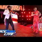 شينسكي نكامورا ينطلق في عروض سماكداون في مشهد مهيب (فيديو)
