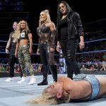 نجوم المصارعة يعلقون على نهاية عرض سماك داون بين السيدات