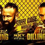 تأكيد مواجهة القفص في عرض NXT، ترحيب بمذيعة العرض الجديدة