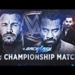 من خرج حاملا لقب WWE في عرض باكلاش 2017؟ راندي أورتن أم جيندر مهال؟