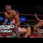 بطل المملكة المتحدة يتحدث عن العمل مع WWE ورأي تربل اتش حول استخدامه لضربته القاضية