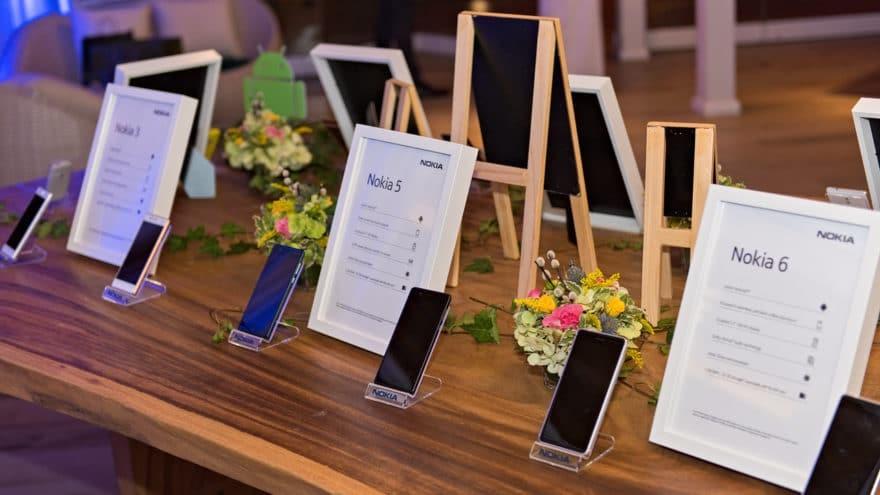 طرح هواتف نوكيا 6 و5 و3 في دولة الإمارات