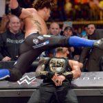 مواجهة اي جي ستايلز ضد رومان رينز على بطولة الاتحاد في اكستريم رولز 2016 (فيديو)