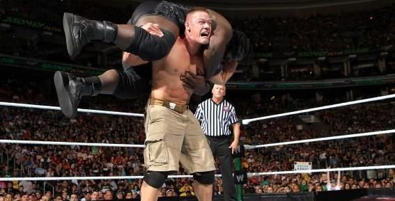 من الذاكرة: نزال جون سينا ضد مارك هنري على بطولة الاتحاد في موني ان ذا بانك 2013