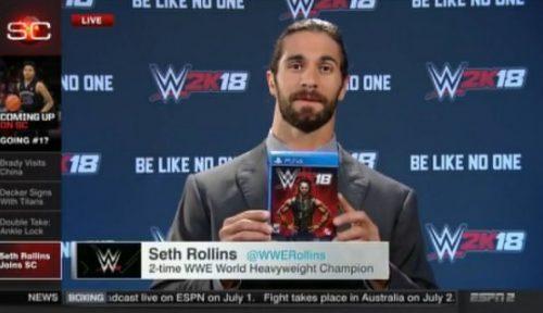 سيث رولينز يكشف عن اعلانه الكبير على قناة ESPN (صورة)